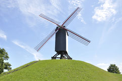 Windmill, Bruges Belgium Royalty Free Stock Photos