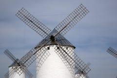 Windmill; Campo de Criptana Royalty Free Stock Photos
