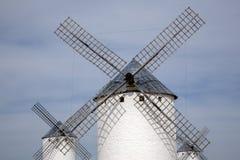 Windmill; Campo de Criptana Royalty Free Stock Photo