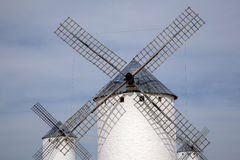 Windmill; Campo de Criptana Stock Images