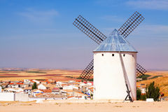 Windmill in Campo de Criptana Royalty Free Stock Photography