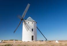Windmill at Campo de Criptana La Mancha, Spain Stock Image