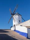 Windmill at Campo de Criptana La Mancha, Spain Royalty Free Stock Images