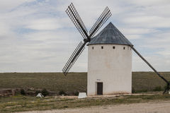 Windmill in Castilla La Mancha Royalty Free Stock Photography