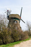 Windmill Charlotte at the Geltinger Noor Stock Image