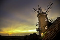 Windmill at Cley Next the Sea Royalty Free Stock Image