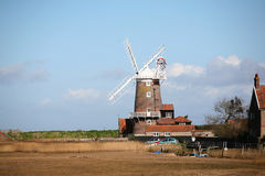 Windmill at Cley, Norfolk Royalty Free Stock Photo