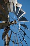 Windmill Closup. Outback windmill vanes closeup Royalty Free Stock Photo
