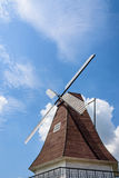 windmill and clouds Royalty Free Stock Photos