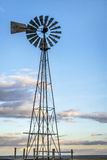 Windmill in Colorado prairie Royalty Free Stock Image