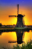 Windmill colors Royalty Free Stock Photography