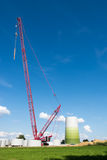 Windmill Construction Site Royalty Free Stock Images