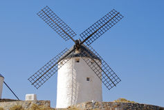 Windmill in Consuegra Royalty Free Stock Photography
