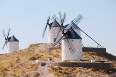 Windmill in Consuegra Stock Photography