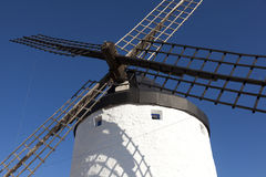 Windmill in Consuegra Royalty Free Stock Photo