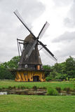 Windmill in Copenhagen Open-air museum Royalty Free Stock Photo