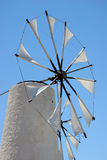 Windmill in crete. Greece stock images