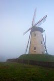 Windmill in Damme, Belgium. Royalty Free Stock Photos