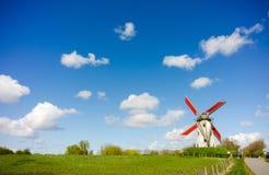 Windmill, Damme, Belgium Royalty Free Stock Photos