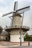 Windmill De Haas in Benthuizen, die Niederlande lizenzfreies stockbild