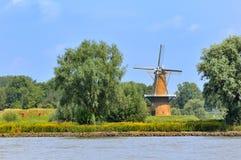 Windmill De Hoop fotografie stock