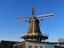 Windmill De Hoop in Klarenbeek, die Niederlande lizenzfreies stockbild
