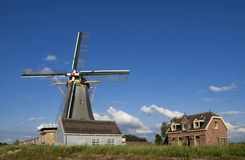 Windmill de Liefde fotografia stock