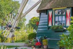 Windmill De Riekermolen. Stock Photos
