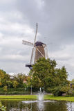 Windmill de valk, Leiden,  Netherlands Stock Photography