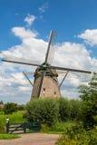Windmill De Zwaan Immagine Stock Libera da Diritti