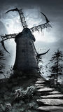 Windmill of Death Royalty Free Stock Photography