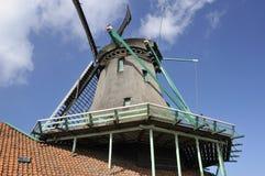 Windmill detail, zaanse schans Stock Photo