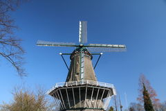 Windmill. In downtown of Amsterdam Stock Images