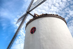 Windmill, Ecoland Theme Park, Jeju Island Stock Photography