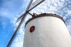 Windmill, Ecoland Theme Park, Jeju Island Stock Photography