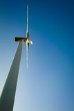Windmill for electric power production. Stock Photo