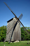 Windmill in estonian village Royalty Free Stock Image