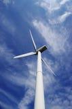 windmill för blå sky Arkivfoton