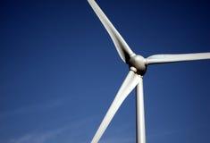 windmill för blå sky för blad Royaltyfria Foton