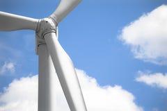 windmill för closeupframdel fortfarande Royaltyfria Foton