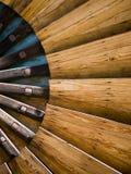 windmill för ladugårddelsaalow Arkivfoton