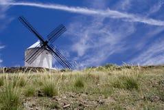 windmill för quijote s Arkivbilder