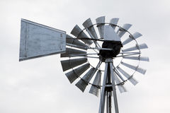 Windmill on a farm Royalty Free Stock Photography