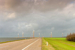 Windmill farm Stock Photography