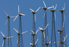 Windmill farm Royalty Free Stock Images