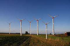 Windmill farm Royalty Free Stock Photography