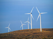 A Windmill Farm Royalty Free Stock Photos