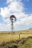 Windmill on a farm in South Africa Stock Photography