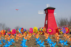 Windmill festival Royalty Free Stock Photography