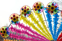 Windmill festival Stock Photo